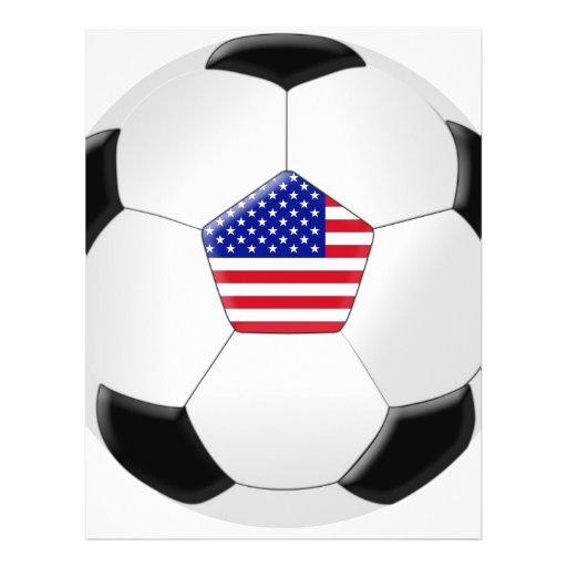 Ballon de football des États-Unis Prospectus Customisé