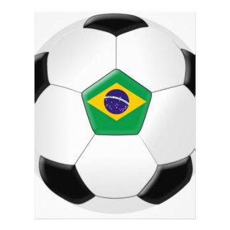 Ballon de football du Brésil Prospectus Personnalisés