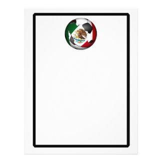 Ballon de football du Mexique Prospectus Personnalisés
