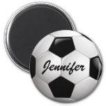 Ballon de football personnalisable magnets