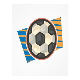 Ballon de football prospectus en couleur