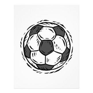 Ballon de football tract
