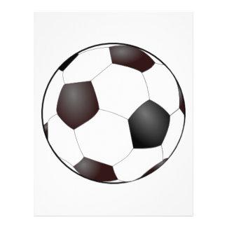 Ballon de football prospectus 21,6 cm x 24,94 cm