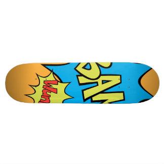 "Ballon des Comic-Buch-""Bam"" Individuelles Skateboard"