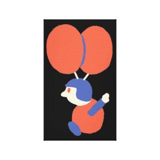 Ballon-Kampf Leinwanddruck