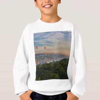 Ballone an der Dämmerung Sweatshirt