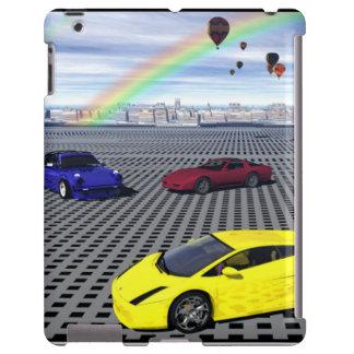 Ballone Heißluft der Sport-Autos iPad Hülle