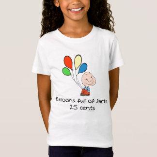 Ballone voll von Furzen T-Shirt
