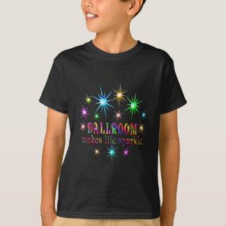 Ballsaal-Glitzern T-Shirt