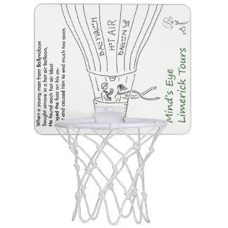 Ballyvaloon MiniBasketballkorb von der SCHMELZE Mini Basketball Ring
