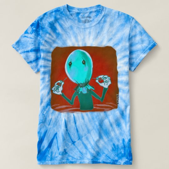 baloon HauptCartoon-Artillustration T-shirt