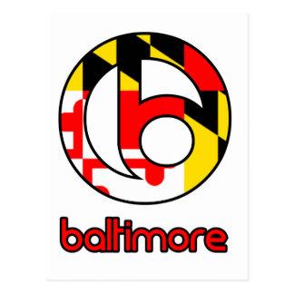 Baltimore-Gewohnheits-Geschenke Postkarte