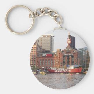Baltimore-Hafen Schlüsselanhänger