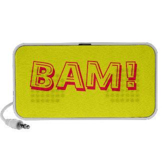Bam ! rétro haut-parleur comique