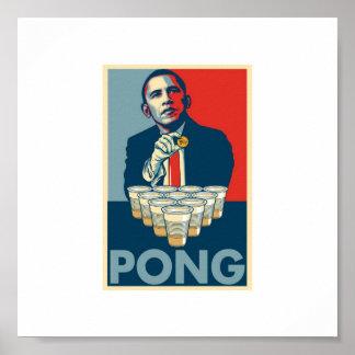 BAMA-PONG-Plakat Poster