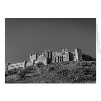 Bamburgh Schloss, Northumberland Grußkarte