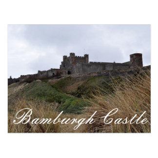 Bamburgh Schloss-Postkarte Postkarte