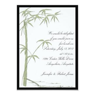 Bambusschönheits-Party Einladung