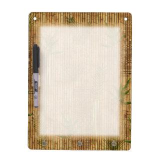 Bambustapa-Stoff Trockenlöschtafel