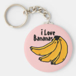 bananasreality, Bananen, i-Liebe Schlüsselanhänger