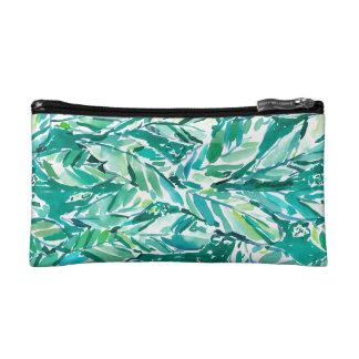 BANANEN-BLATT-DSCHUNGEL Grün tropisch Makeup-Tasche