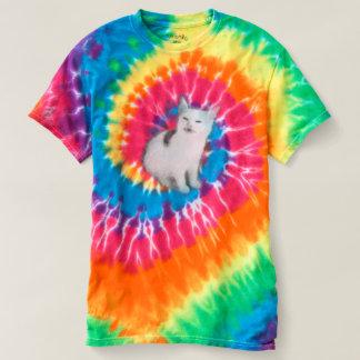Bananen-Katzen-Spirale-Shirt T-shirt