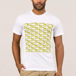 Bananen-Muster T-Shirt