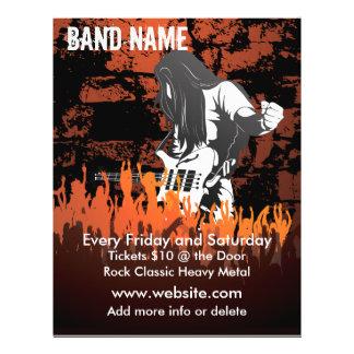 Band-Konzert-Musik-Flyer