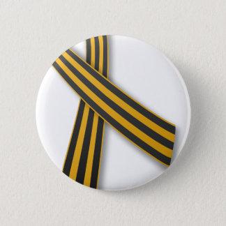 Band von St George Runder Button 5,7 Cm