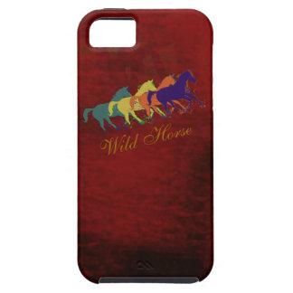 Band wilde Pferdedes laufens iPhone 5 Hülle