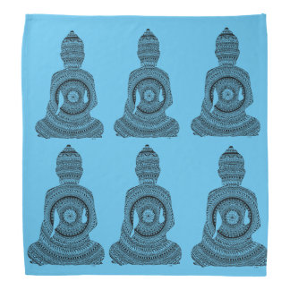 Bandana Buddha GraphiZen Kopftücher