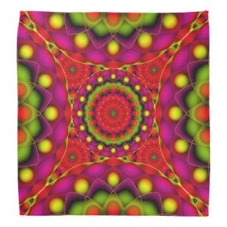 Bandana-Mandala-psychedelische Visionen Halstuch