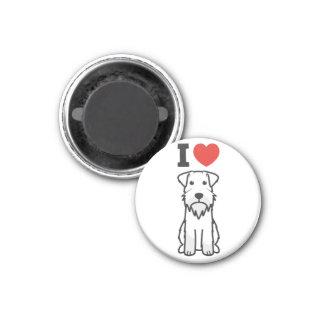 Bande dessinée de chien de Schnauzer miniature Aimants Pour Réfrigérateur