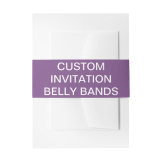 Bandeaux De Faire-part Le ventre d'invitation personnalisé par coutume