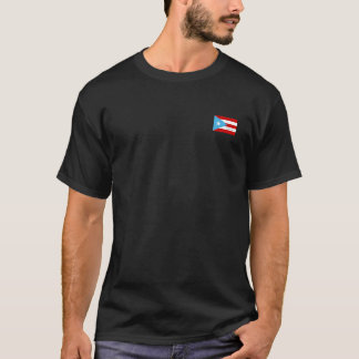 Bandera Azul Celeste, Puerto Rico T-Shirt