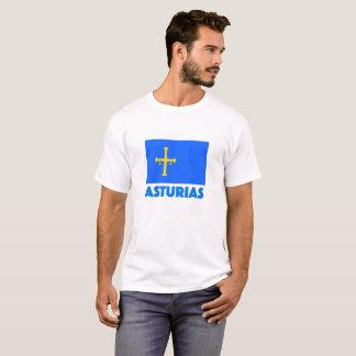 Bandera De Asturien Camiseta T-Shirt