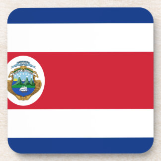 Bandera De Costa Rica - Flagge von Costa Rica Getränkeuntersetzer