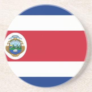 Bandera De Costa Rica - Flagge von Costa Rica Untersetzer