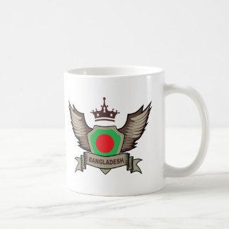 Bangladesch-Emblem Kaffeetasse