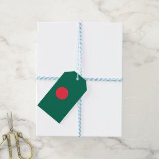 Bangladesch-Flagge Geschenkanhänger