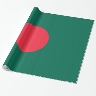 Bangladesch-Flagge Geschenkpapier