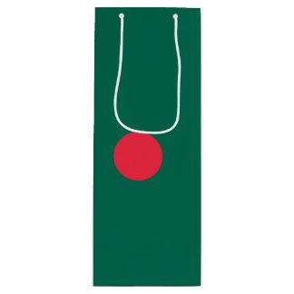Bangladesch-Flagge Geschenktüte Für Weinflaschen