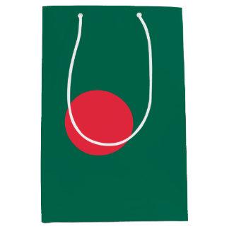 Bangladesch-Flagge Mittlere Geschenktüte