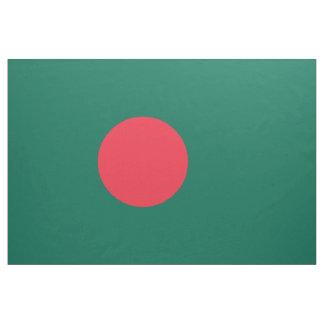 Bangladesch-Flagge Stoff