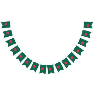 Bangladesch-Flagge Wimpelketten