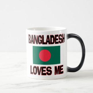 Bangladesch-Lieben ich Verwandlungstasse
