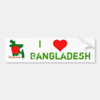 Bangladesch Map Autoaufkleber