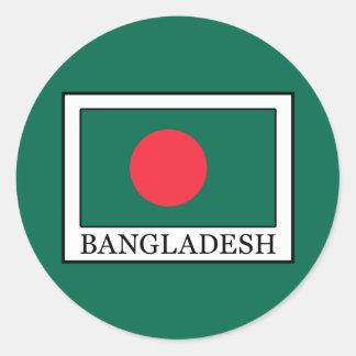 Bangladesch Runder Aufkleber