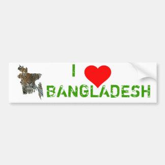 Bangladesch-Tiger Autoaufkleber