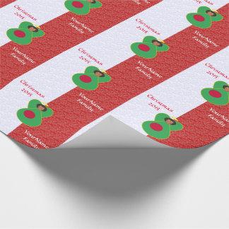 Bangladeschischer Flaggen-Engels-rotes Weiß Geschenkpapier